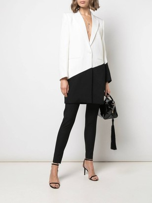 Givenchy Black And White Blazer