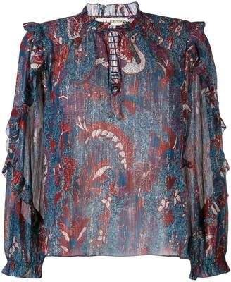 Ulla Johnson floral-print blouse