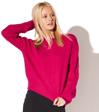 Juniors' Vylette Bauble Stitch Sweater