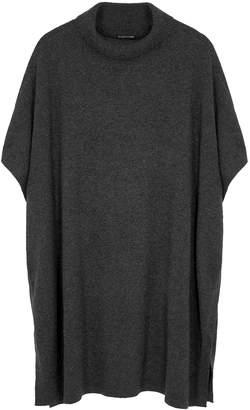 Eileen Fisher Dark Grey Cashmere Poncho