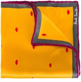Paul Smith lip print pocket square