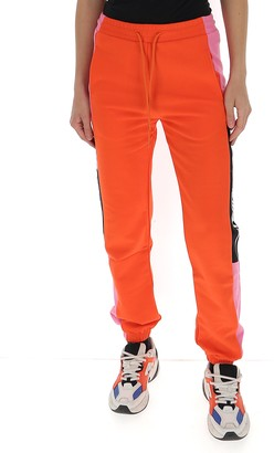 MSGM Logo Colour-Block Track Pants