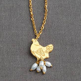 Coleman Amanda Mother Hen Pearl Necklace