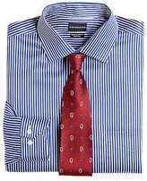 Rochester Bengal Stripe Dress Shirt Casual Male XL Big & Tall