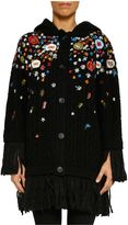 RED Valentino Embroidered Cardigan