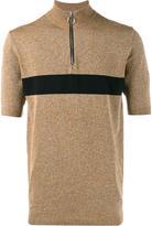 John Lawrence Sullivan stripe zip top - men - Nylon/Polyurethane/Rayon - L
