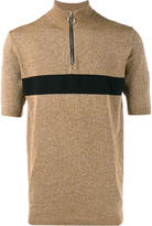 John Lawrence Sullivan stripe zip top - men - Nylon/Polyurethane/Rayon - M