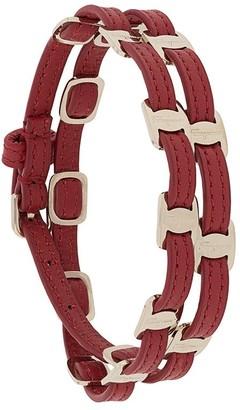 Salvatore Ferragamo Vara double-strap buckle bracelet