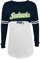 5th & Ocean Women's Seattle Seahawks Sweeper Long Sleeve T-Shirt