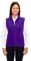 North End Ash City - Core 365 Ladies' Journey Fleece Vest L
