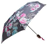 Joules New Mens Grey Bloom Polyester Umbrella