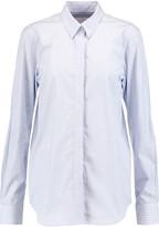 Victoria Beckham Striped cotton-poplin shirt