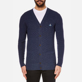 Vivienne Westwood Man Classic Buttoned Cardigan Navy
