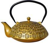 Old Dutch 37 oz. Cast Iron Teapot Ritchi in Gold/Black