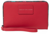 Marc by Marc Jacobs Ditsy Flower Wingman Leather Wristlet