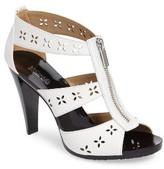 MICHAEL Michael Kors Women's Berkley Floral Zipper Sandal