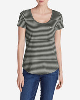 Eddie Bauer Women's Gypsum T-Shirt - Striped