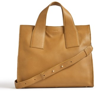Jigsaw Roscoe Leather Work Bag
