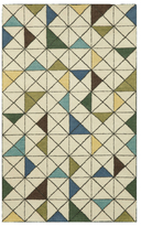 Liora Manné Fantasy Triangles Indoor Hand-Tufted Wool Rug