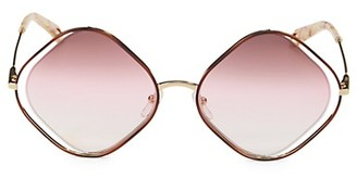 Chloé 57MM Diamond Sunglasses