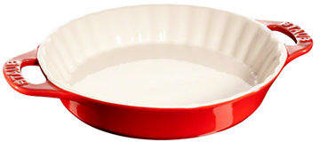 Staub 1.25 Quart Ceramic Pie Dish