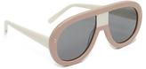 Stella McCartney Pilot Mirrored Sunglasses
