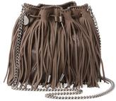 Stella McCartney Falabella Fringed Mini Bucket Bag