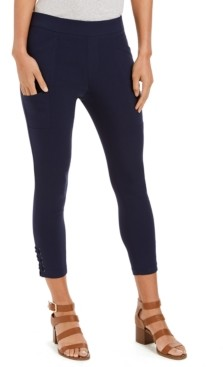 Style&Co. Style & Co Cropped Utility Pants, Created for Macy's