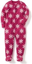 Old Navy Performance Fleece Footed Sleeper for Toddler & Baby