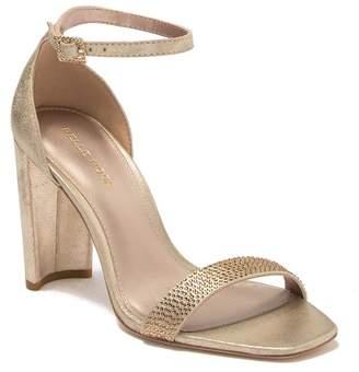 Pelle Moda Gabi 3 Metallic Suede Ankle Strap Sandal