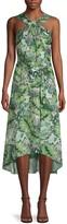 Ava & Aiden Printed Halter Dress