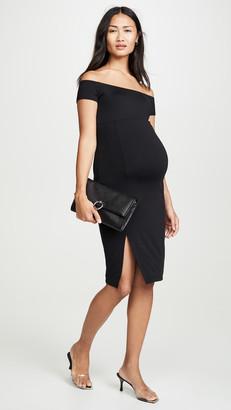 Susana Monaco Maternity Off The Shoulder Dress