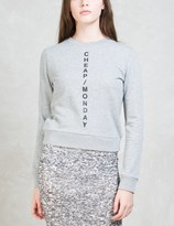 Cheap Monday Diagonal Logo Win Sweatshirt