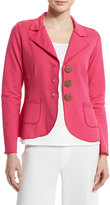 Neon Buddha New Denim Button-Front Jacket, China Cat Pink