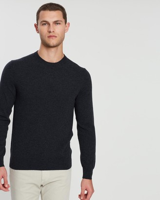 Gieves And Hawkes Fine Cashmere Crew Neck Knit