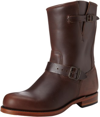 Frye Men's Arkansas Engineer Boot Dark Brown 7.5 M US