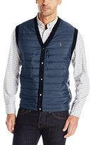 U.S. Polo Assn. Men's Milano Vest with Quilted Front