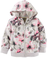 Osh Kosh Floral French Terry Active Hoodie