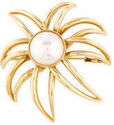 Tiffany & Co. Large Mabe Pearl Fireworks Brooch