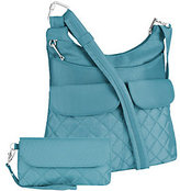 Travelon Anti-Theft Quilted Pocket Crossbody w/ RFID Wallet