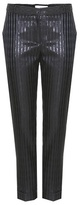 Carven Metallic-striped trousers