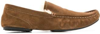 BOSS suede loafers