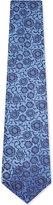 Duchamp Tonal floral silk tie