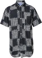 Junya Watanabe Comme Des Garçons Man abstract check shortsleeved shirt