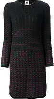 M Missoni chevron knit dress