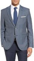 BOSS Men's Jedson Trim Fit Wool Blazer