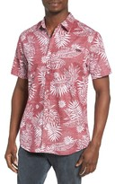 O'Neill Men's Tradewinds Reverse Print Palm Leaf Shirt