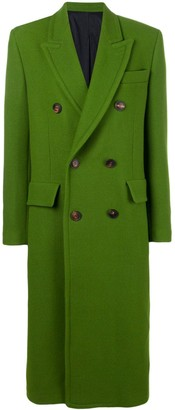AMI Paris Three Buttons Patched Pockets Unlined Coat