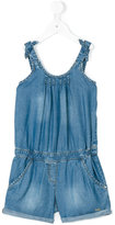 Liu Jo Kids - denim playsuit - kids - Lyocell - 2 yrs