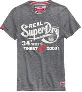 Superdry Men's Nyc Finest Logo-Print T-Shirt